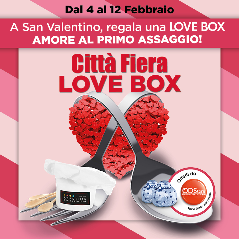 Regala la Love Box per San Valentino