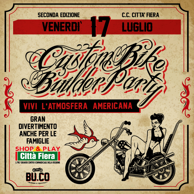 Custom BIKE builder PARTY