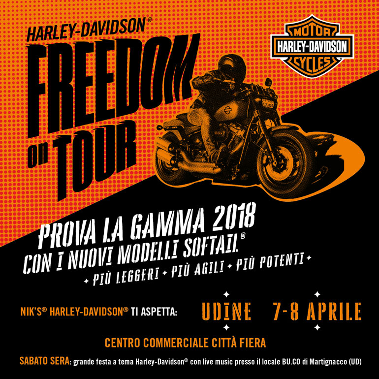 Harley-Davidson® Freedom on Tour
