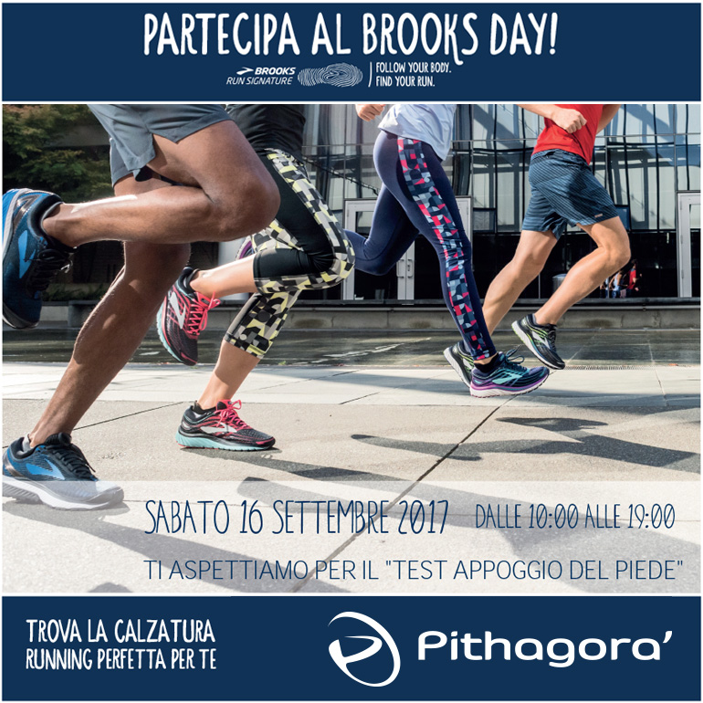 Partecipa al Brooks Day da Pithagorà