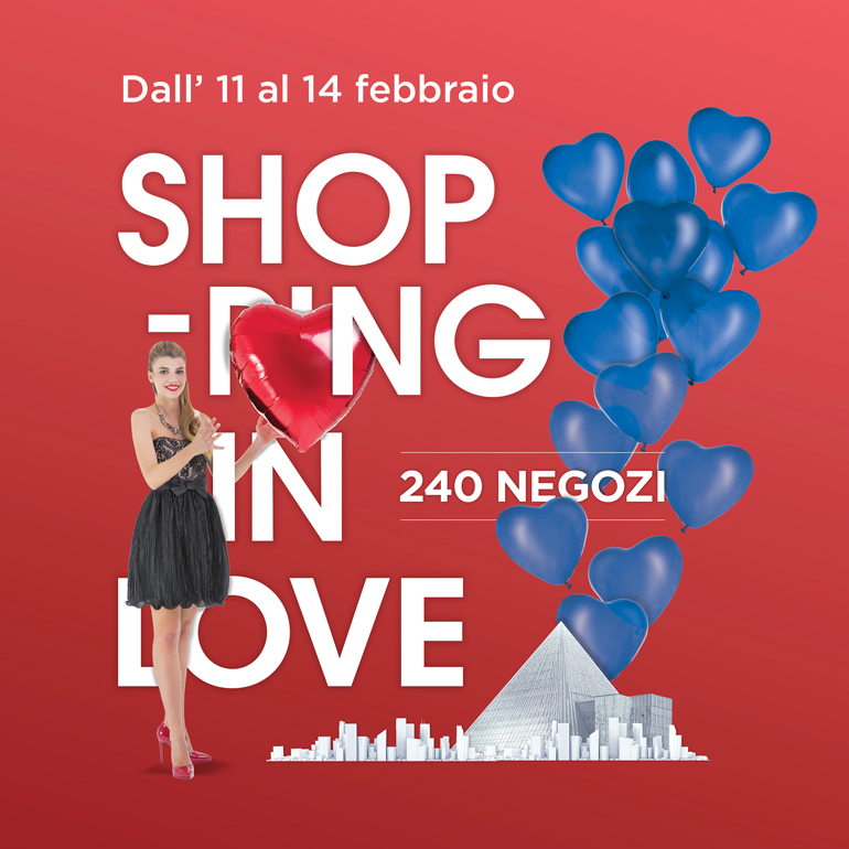 Shopping in Love per uno shopping in totale dolcezza