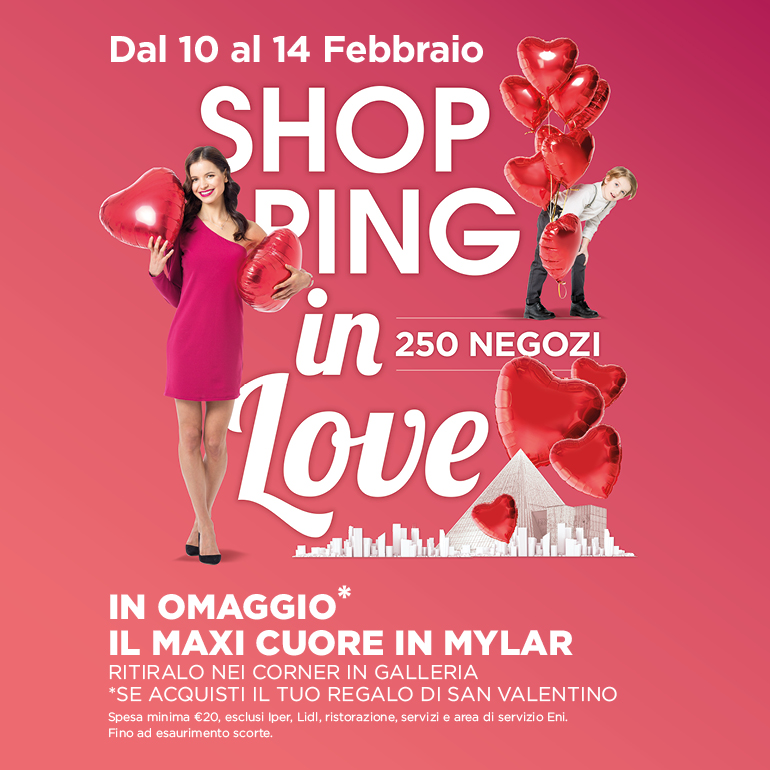 Shopping in love a Città Fiera