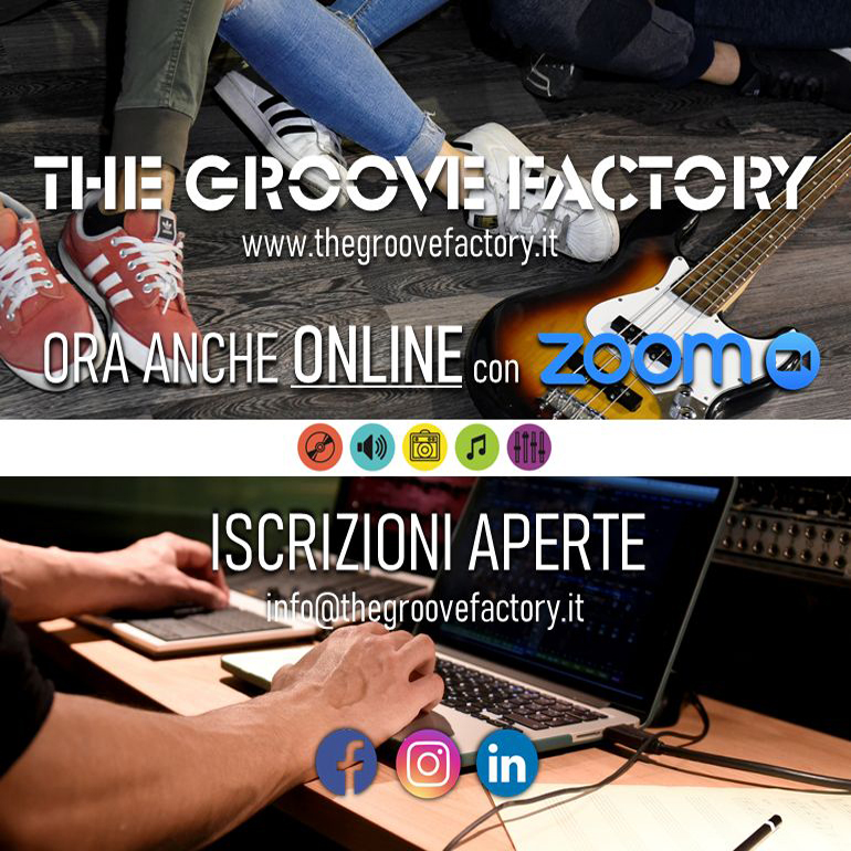 The Groove Factory: lezioni on line