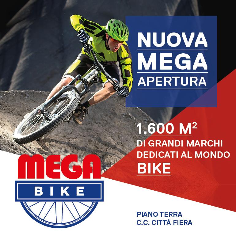 Grande apertura Mega Bike