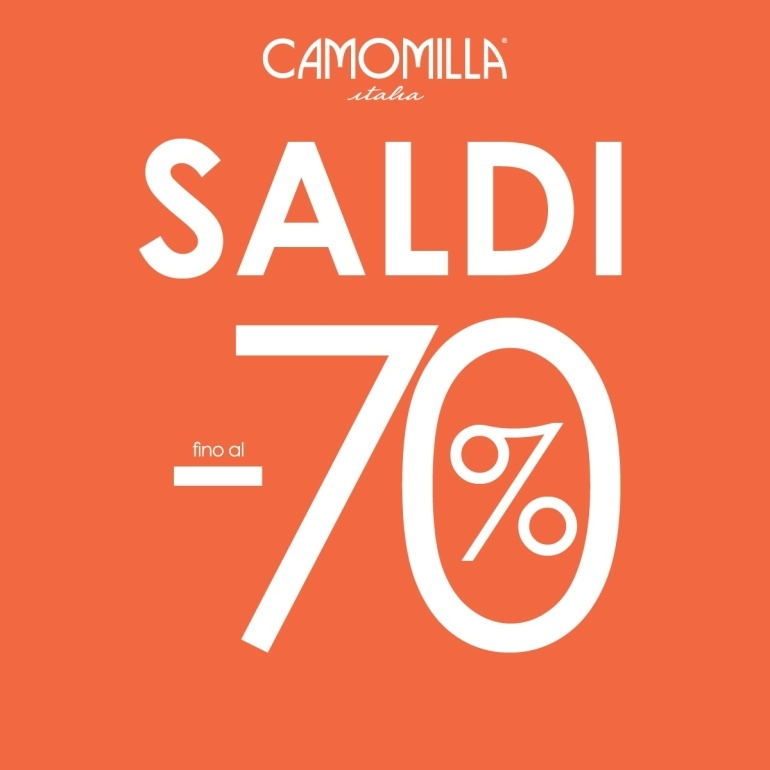 the latest 21127 2d351 Saldi Camomilla Italia
