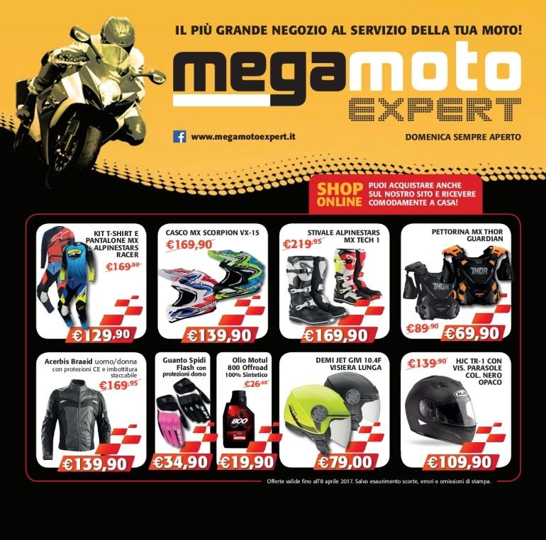 Mega Moto Expert | Prodotti ABBIGLIAMENTO