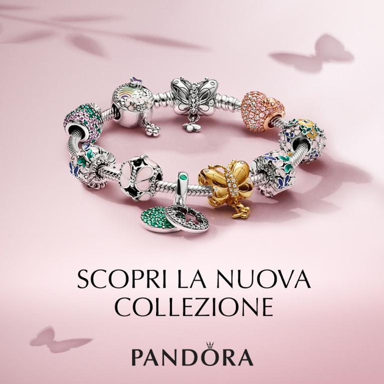 rivenditore all'ingrosso f2a8e 7151a Promozione Nuova Collezione gioielli Pandora Garden